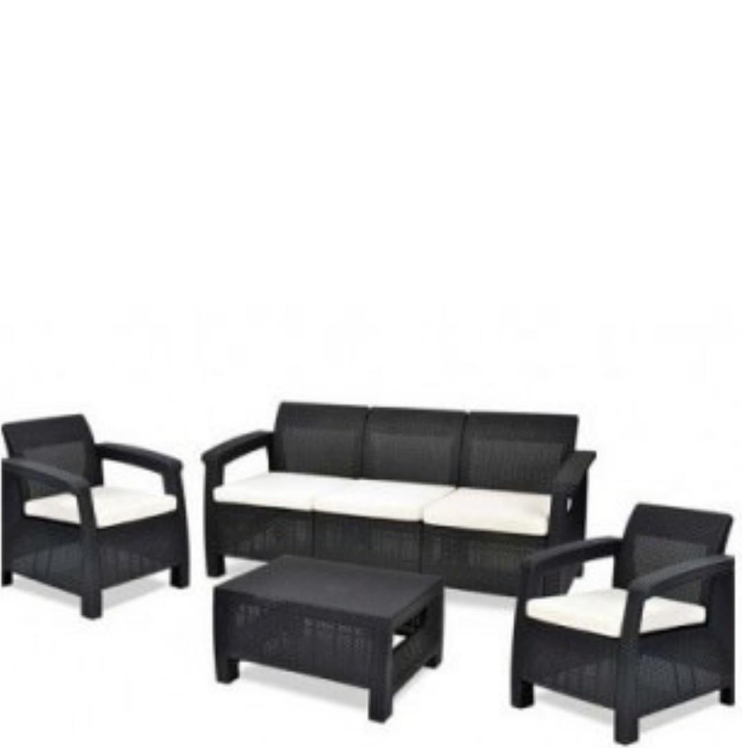 Купить набор уличной мебели Corfu Triple Set в Raroom