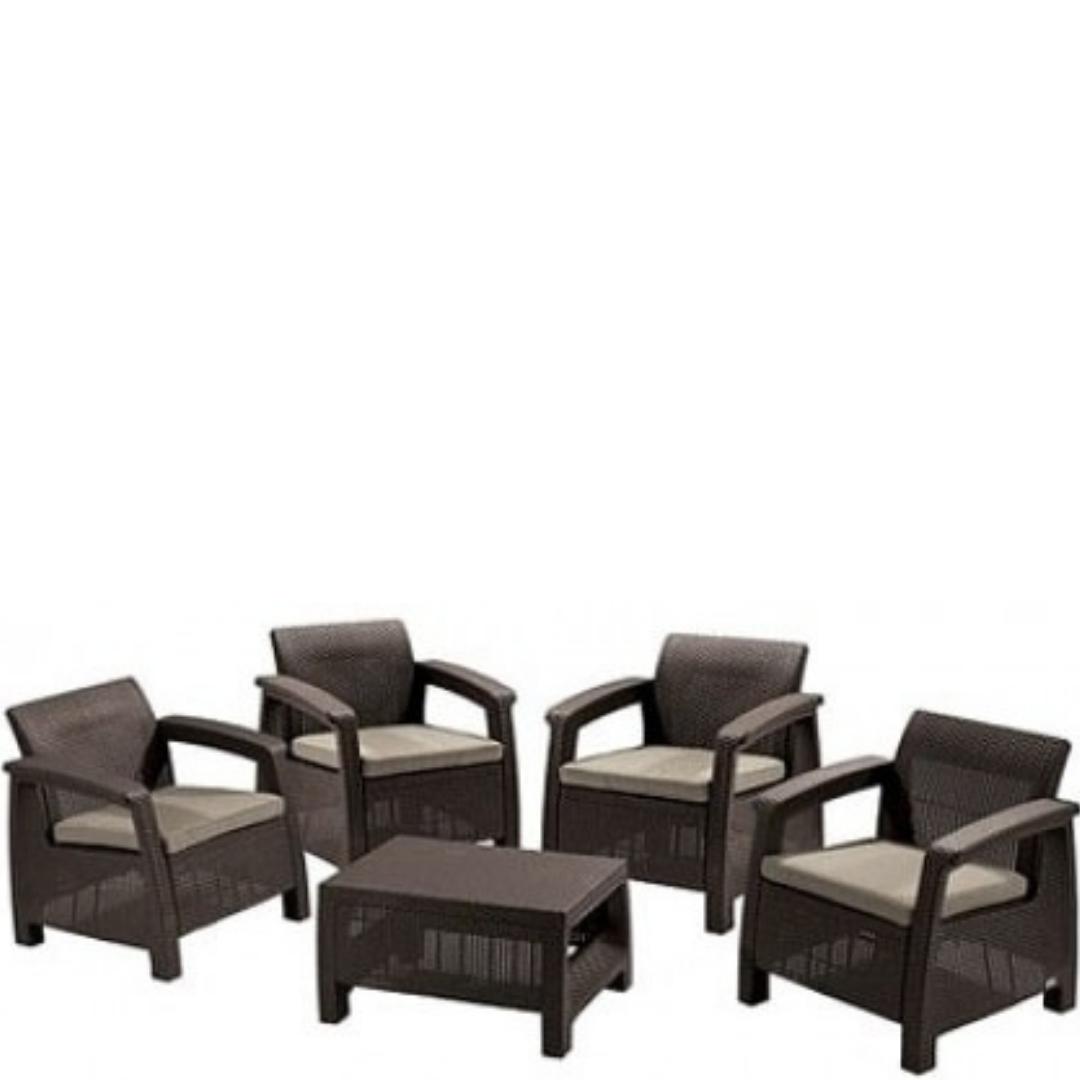 Купить набор уличной мебели Corfu Quartet в Raroom