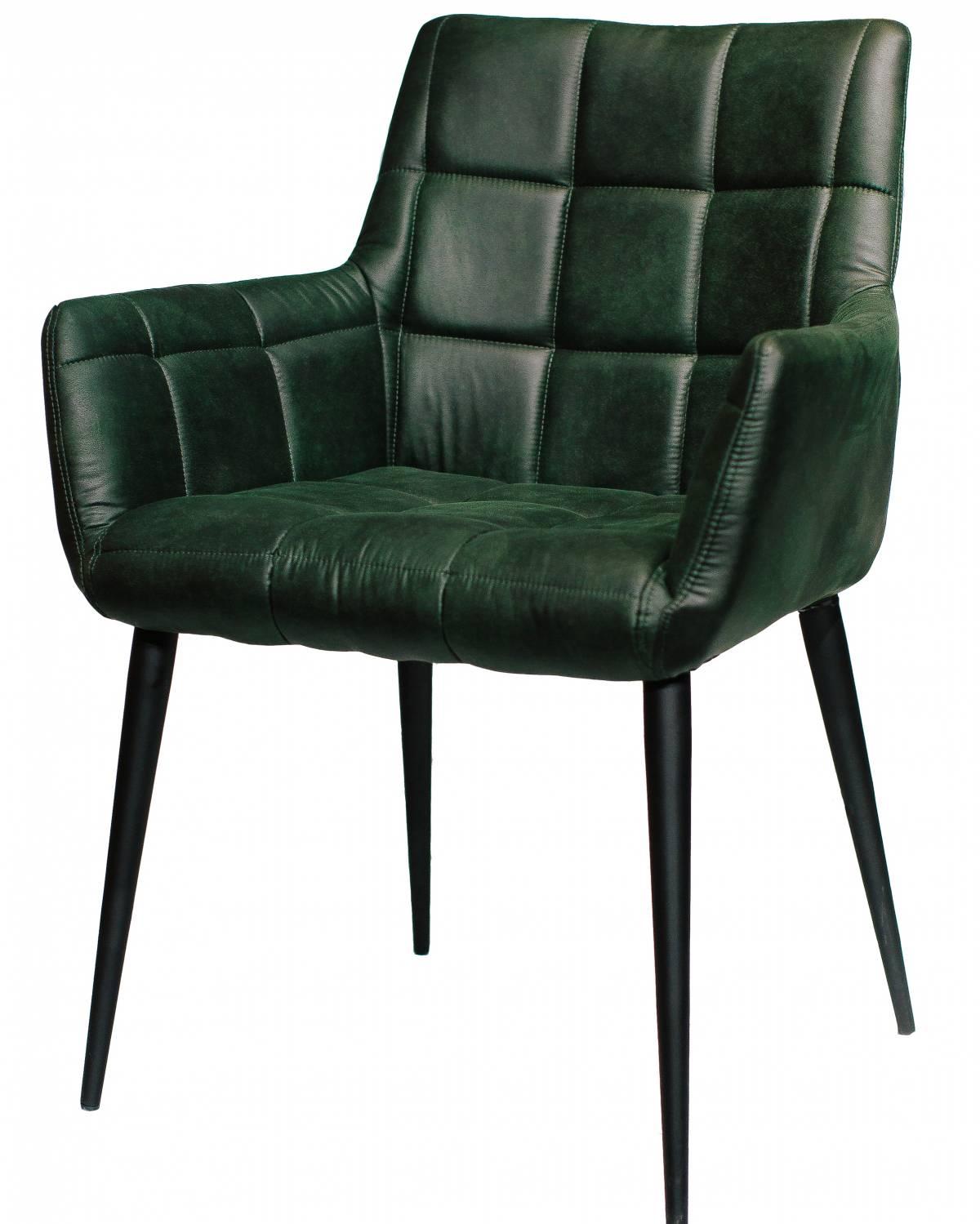 Купить стул с подлокотниками Jackwood West экокожа в Raroom