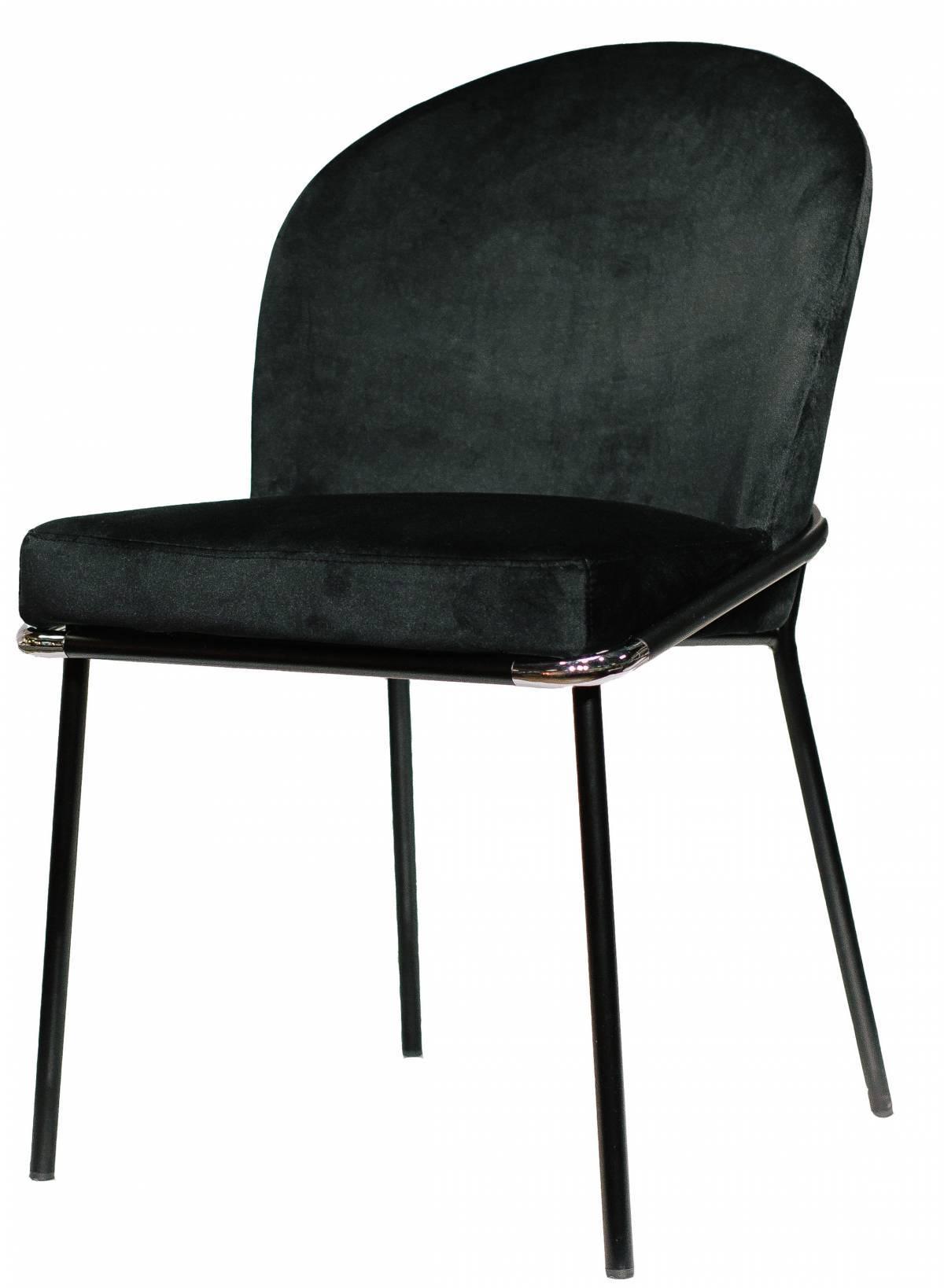 Металлический стул Foxtrot в Raroom черный