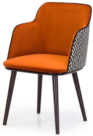 Купить бархатный стул с подлокотниками Glori 7 в Raroom