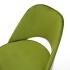 изумрудный стул Glori 9 вблизи