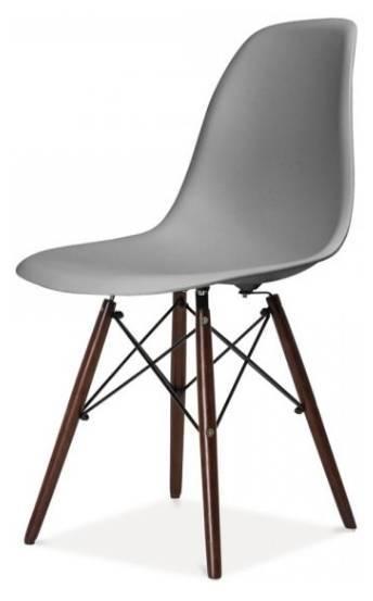 Купить Пластиковый барный стул «HE EAMES DSW Black» в Raroom
