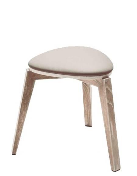 Купить Деревянный стул из экокожи Triple в Raroom