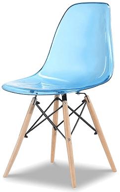 Купить пластиковый стул НЕ Eames DSW T Blue в Raroom