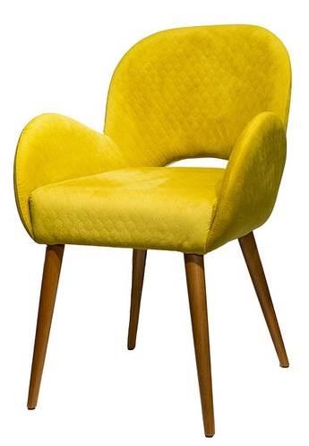 Купить тканевый стул с подлокотниками «Aniva» в Raroom