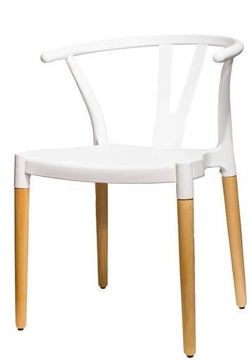 Купить пластиковый стул HE Wishbone в Raroom