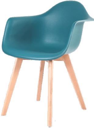 Купить пластиковый стул НЕ Eames Wood в Raroom