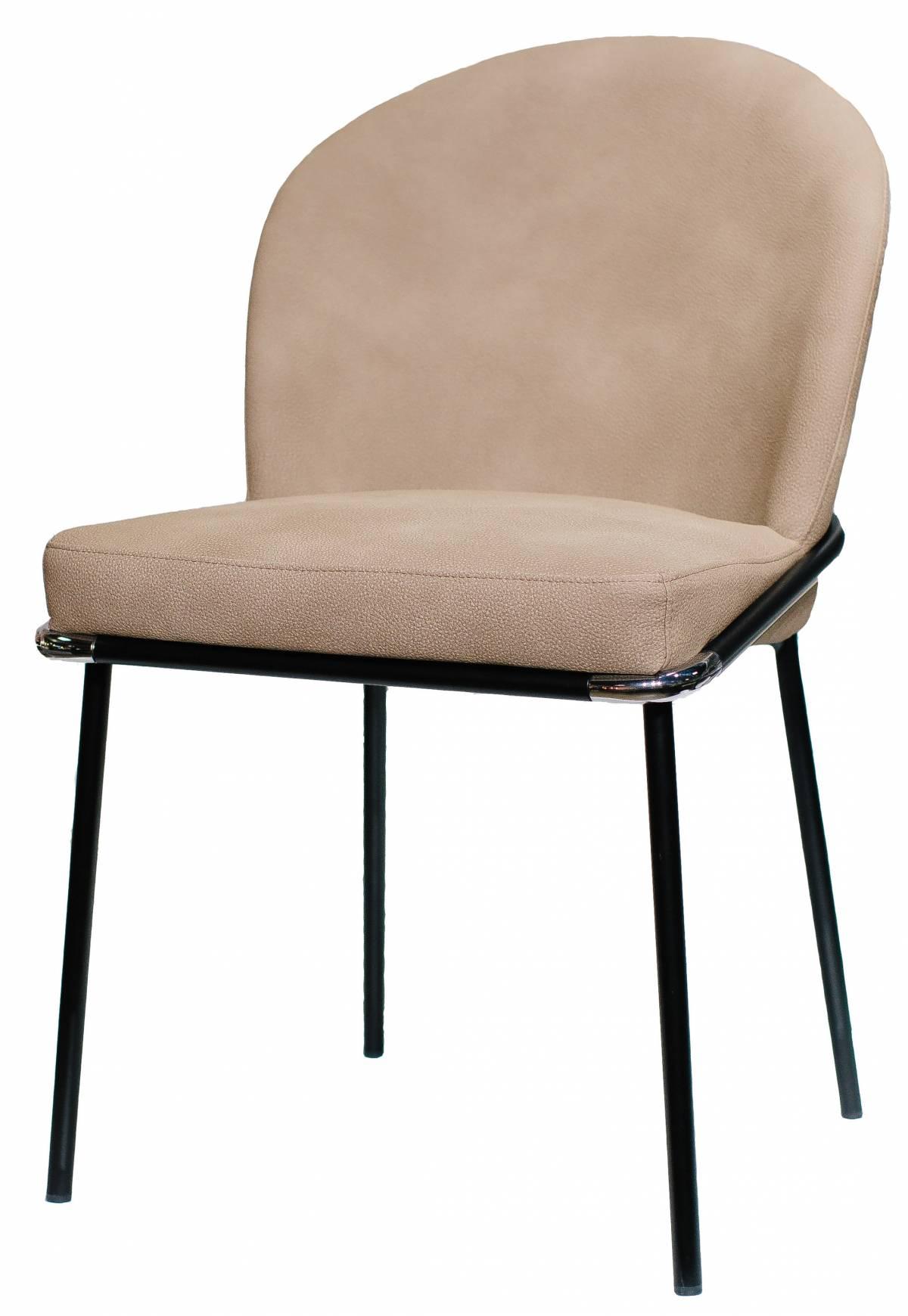 Металлический стул из экокожи Foxtrot в Raroom