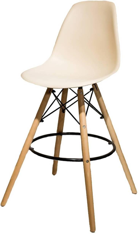 Купить барный пластиковый стул HE EAMES BSW в Raroom