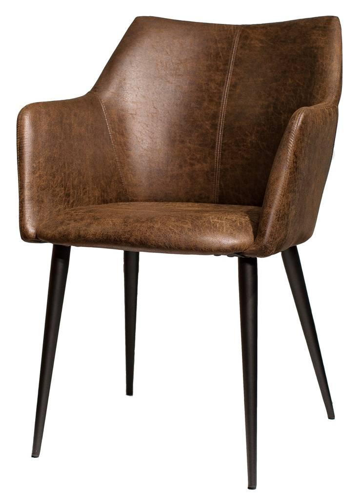 Купить стул из экокожи Stewart в Raroom