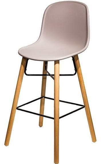 Купить пластиковый барный стул He Hal в Raroom