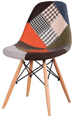 Купить тканевый стул НЕ Eames DSW Patchwork в Raroom