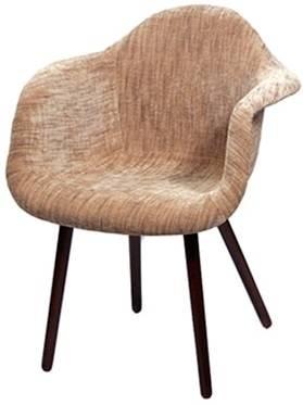 Купить Деревянный стул «DAW» в обивке в Raroom