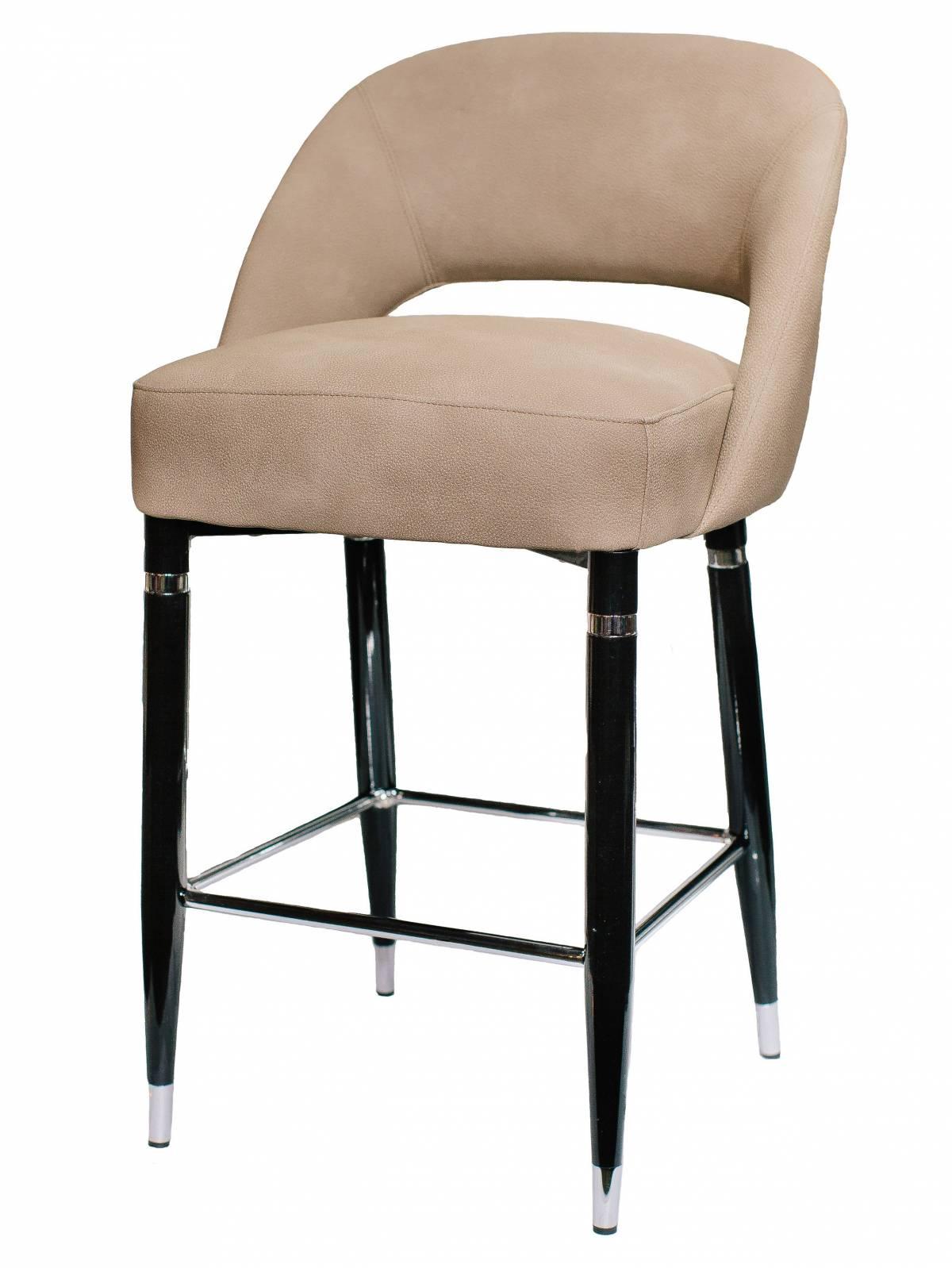 Барный металлический стул из экокожи Jazz в Raroom