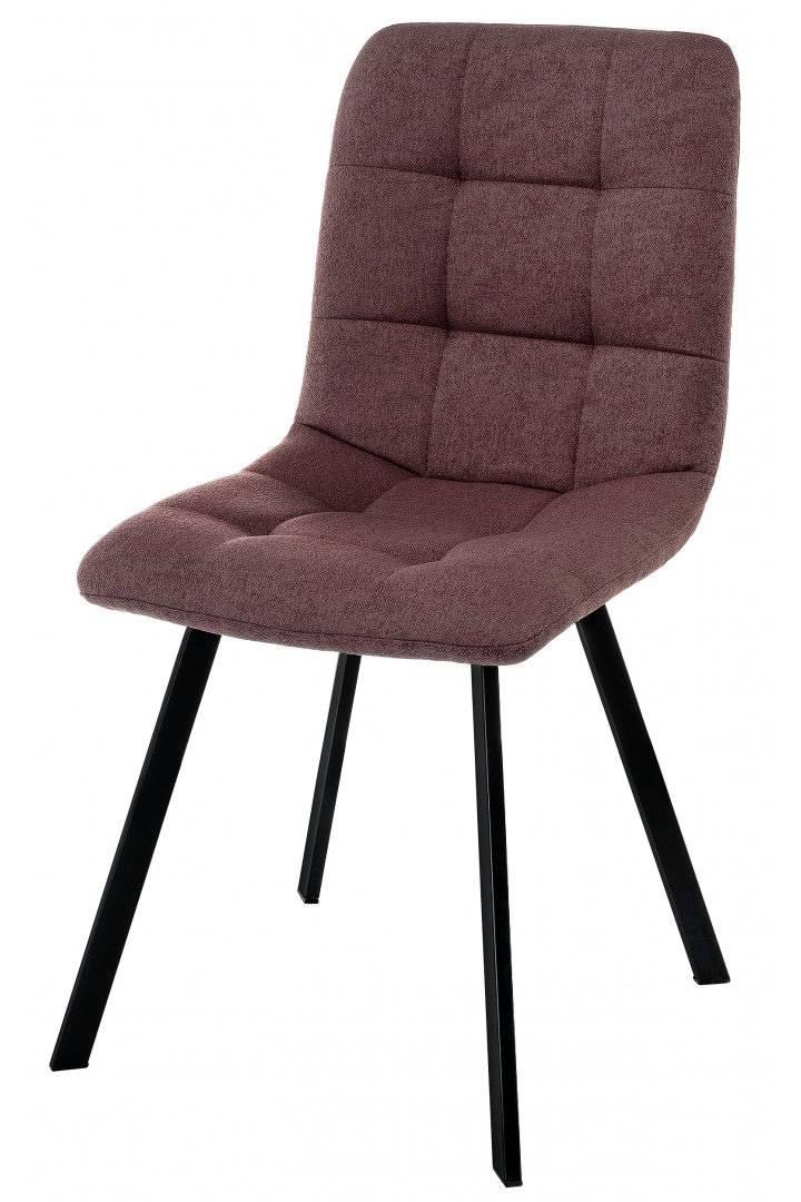 Купить бордовый стул Bruk на металлокаркасе в Raroom