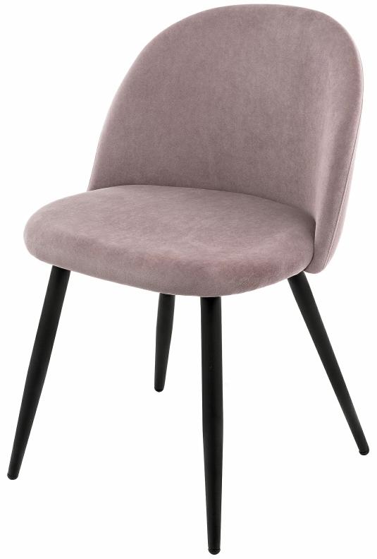 Купить бархатный стул Vels цвета пыльной розы в Raroom
