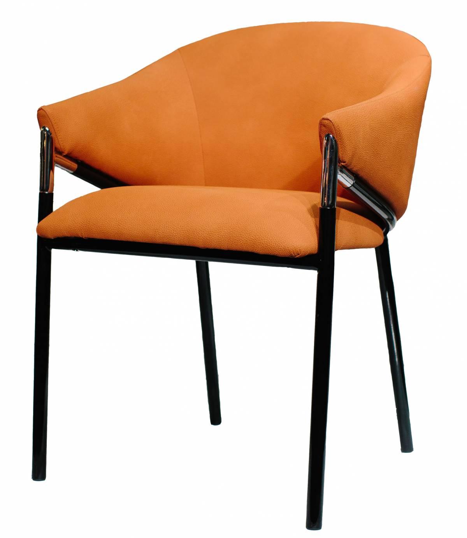 Купить кресло Melody замшевый оранжевый в Raroom