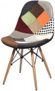 Купить тканевый стул НЕ Eames DSW Patchwork NEW в Raroom