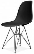 Купить Пластиковый стул «HE EAMES DSR Black» в Raroom
