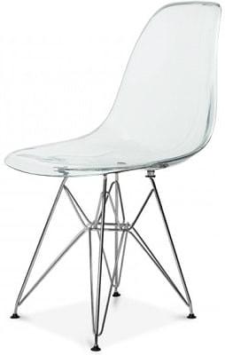 Купить пластиковый стул НЕ Eames DSW Transparent в Raroom