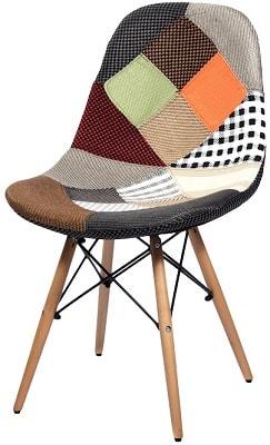 Купить стул НЕ Eames DSW Patchwork NEW в Raroom