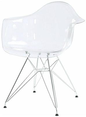 Купить пластиковый стул «HE EAMES DAW Transparent» в Raroom