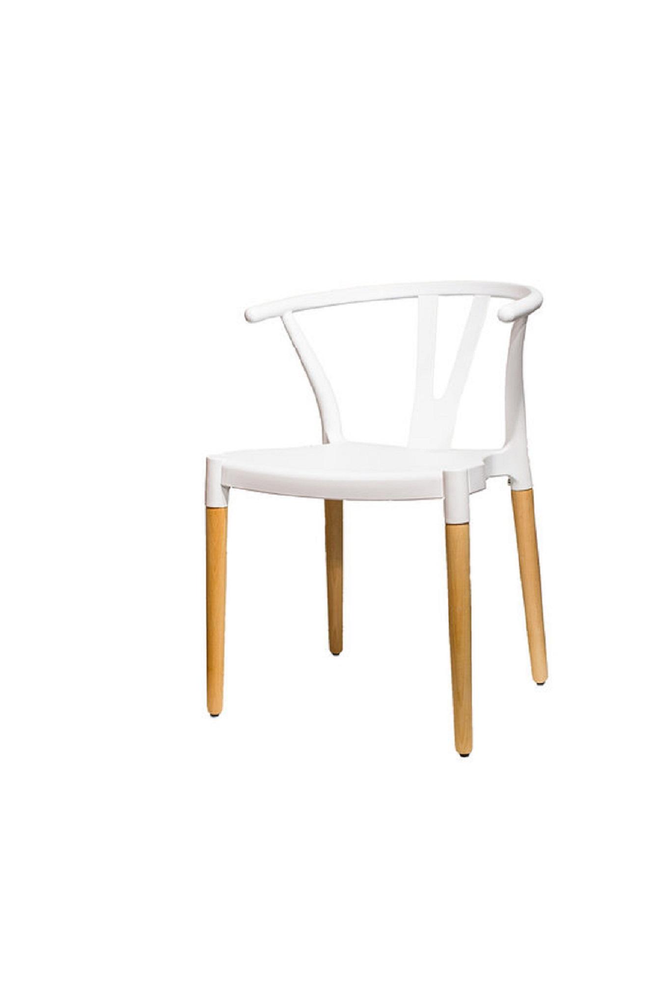 пластиковый стул «HE Wishbone»