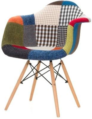 Купить тканевый стул НЕ Eames DAW Patchwork в Raroom