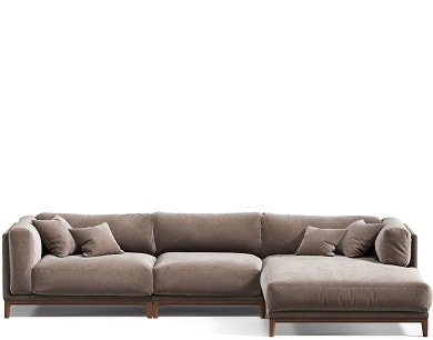Купить четырехместный диван Case #4 LUX в Raroom