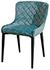 Купить тканевый стул Cindy голубой в Raroom