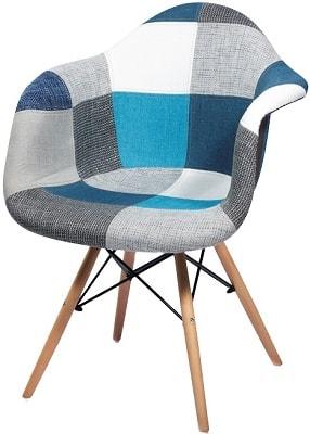 Купить стул НЕ Eames DAW Patch Blue в Raroom